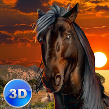Wild African Horse: Animal Simulator 2017