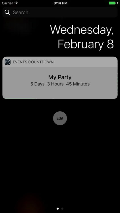 Easy Events Countdown