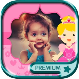 Fairy princess photo frames for girls – Pro