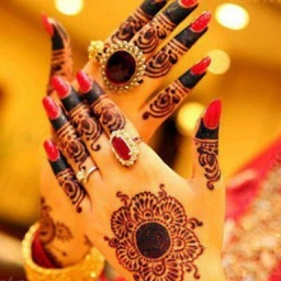 Henna Mehndi Tattoo Designs for Wedding Occasion