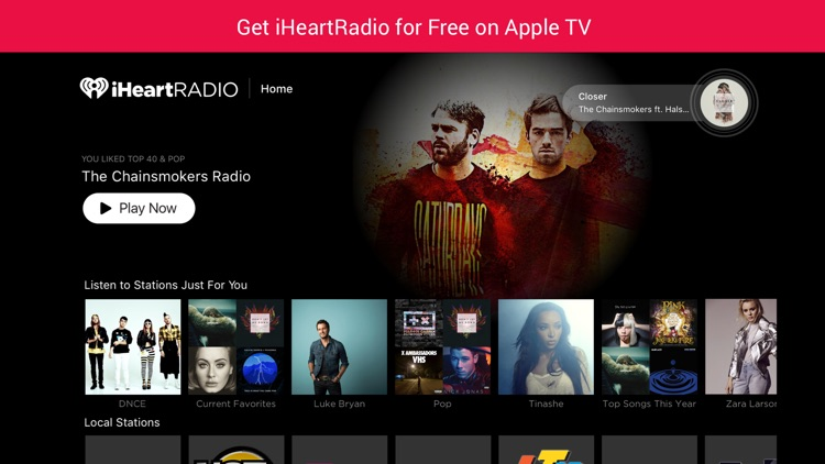 Radio Apps for Apple TV