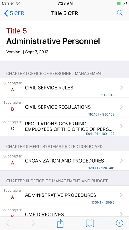 5 CFR - Administrative Personnel (LawStack Series)