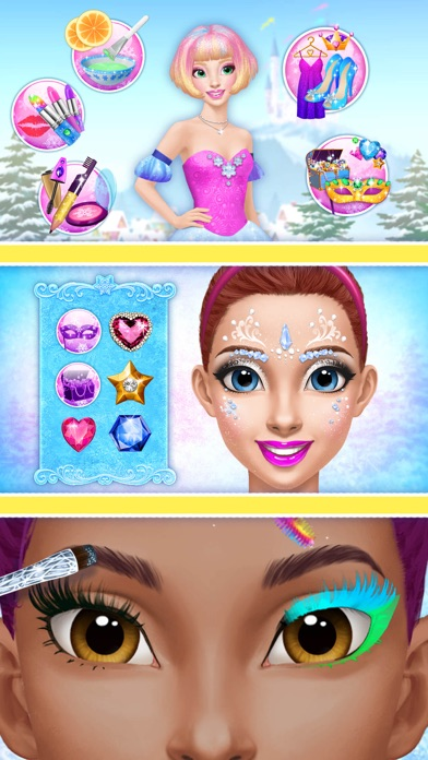 Princess Gloria Makeup Salon - No Ads screenshot 3