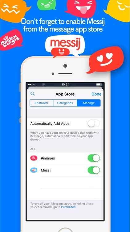 Messij, Emoji stickers for iMessage screenshot-4
