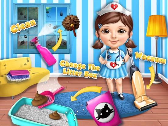 Sweet Baby Girl Cat Shelter – No Ads screenshot 10