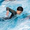 水泳レース3Dをタップする:スイマーでレースにでダイビング
