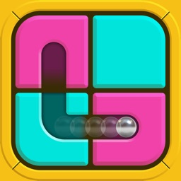 Get the Ball Through the Slide Maze Puzzle