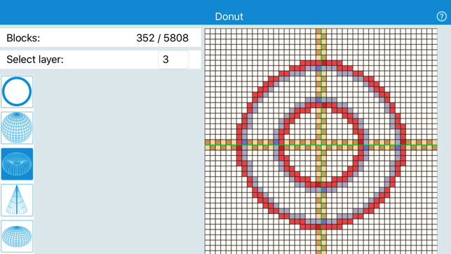 Xib Circles Spheres Donuts Cones And Funnels On The App Store