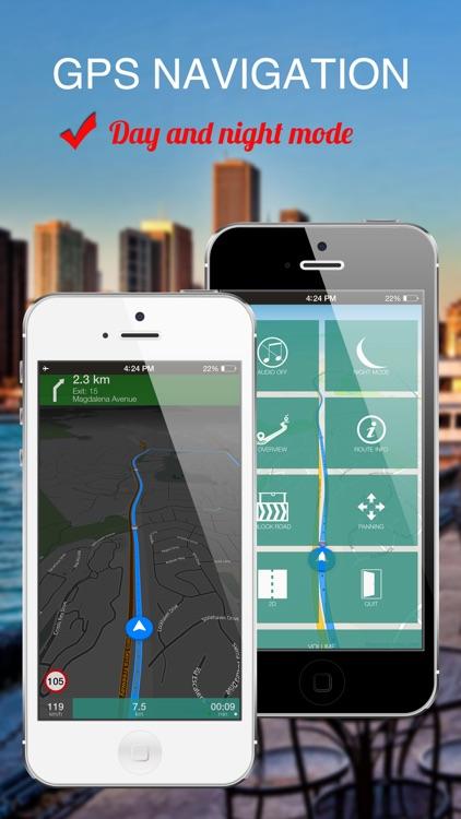 Manila, Philippines : Offline GPS Navigation screenshot-3