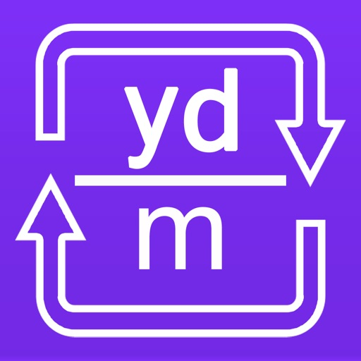 Yards to meters and meters to yards converter