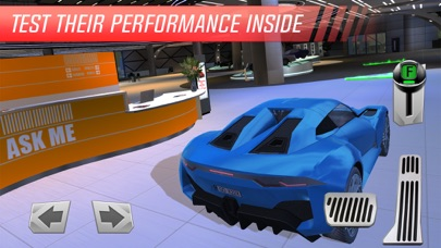 Car Showroom: Luxury Sports Auto Racing Simulator App 截图
