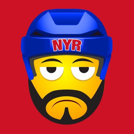 NYR Hockey Stickers & Emojis