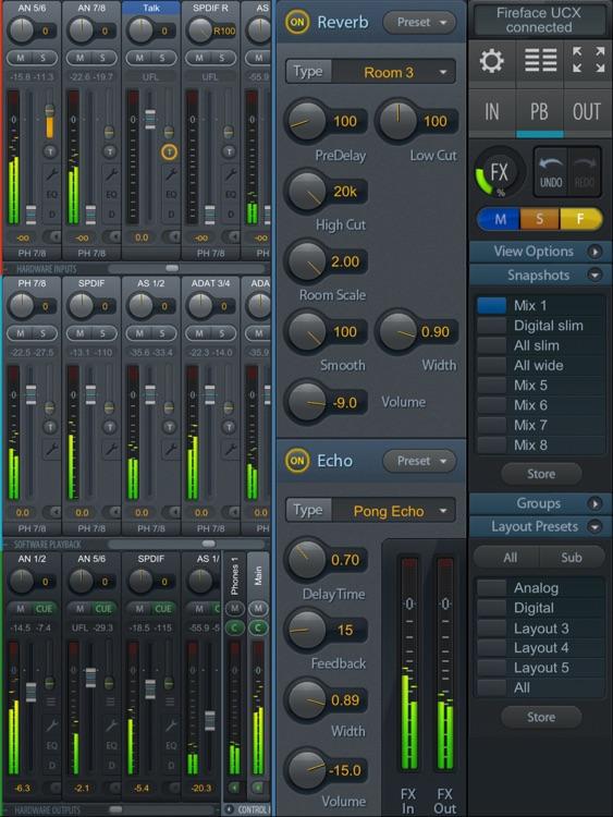 TotalMix FX for iPad screenshot-3