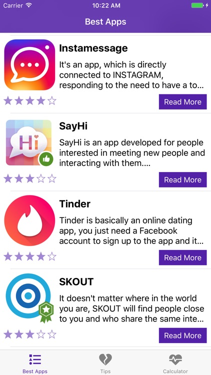 Dating apps for singles, Meet people nearby & Tips