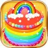 制作彩虹蛋糕 -  好玩的生日蛋糕做饭游戏