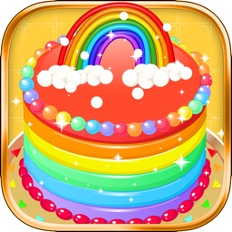 Rainbow Cake Factory - Cooking Game For Kids