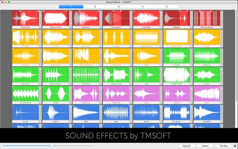 Sound Effects Screenshot - 1