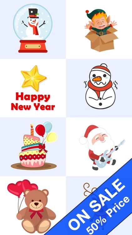Blinking Celebrations Animated Stickers screenshot-3