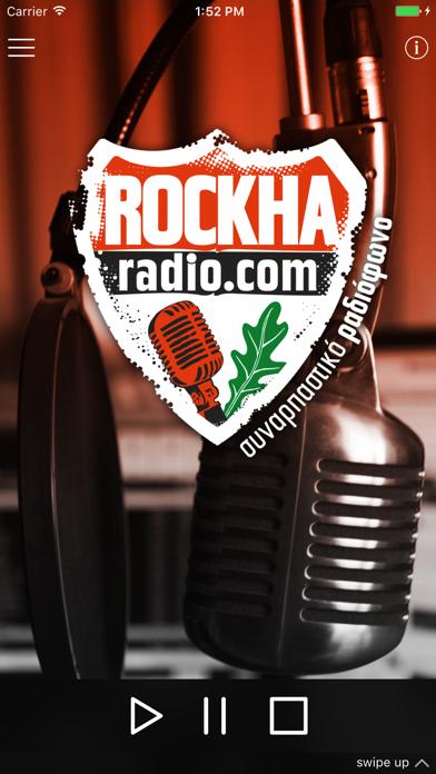 ROCKHA Radio screenshot one