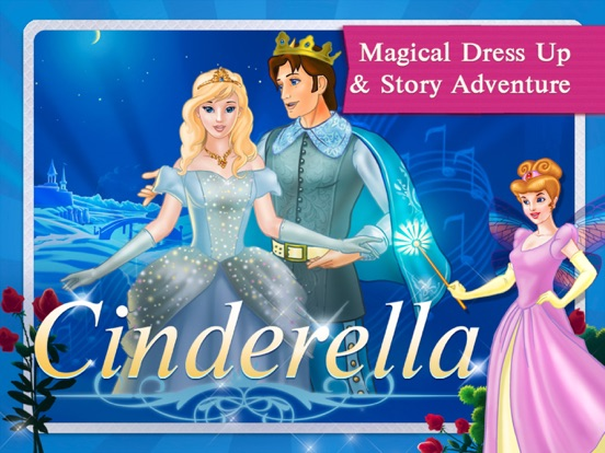Cinderella Fairy Tale Dress Up and Storybook HD screenshot