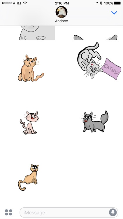 All the Kittens - Animated Cat Stickers