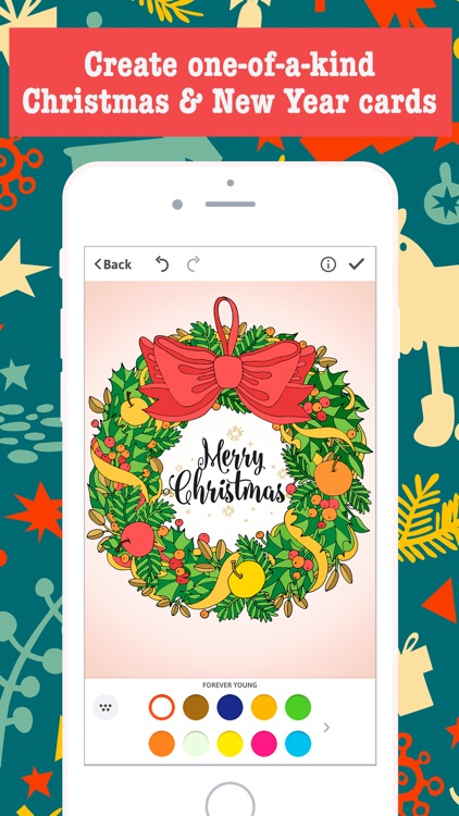 merry christmas card maker free greeting cards - Christmas Photo Card Maker