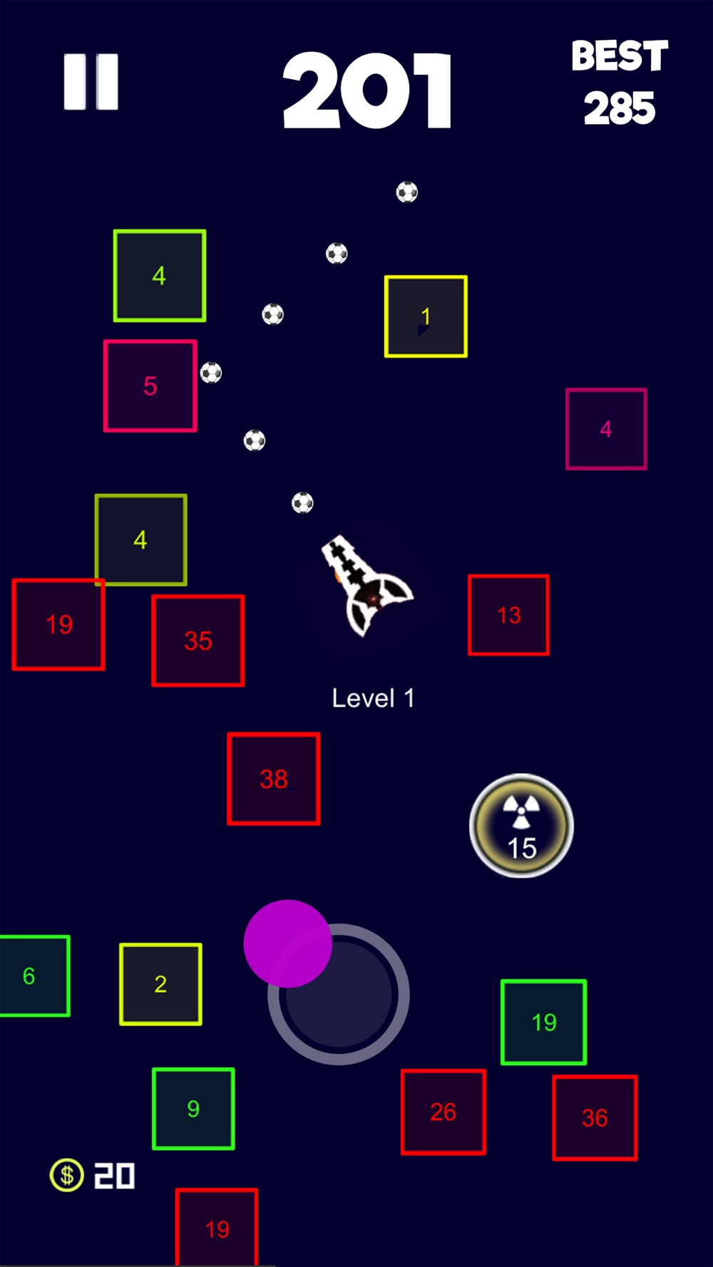 Boomerang Balls Ambush Cheat Codes