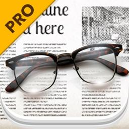 Pocket Glasses Pro - Magnifier with LED Flashlight