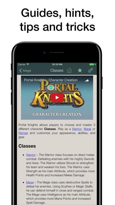 Pocket Wiki for Portal Knights Screenshot 3