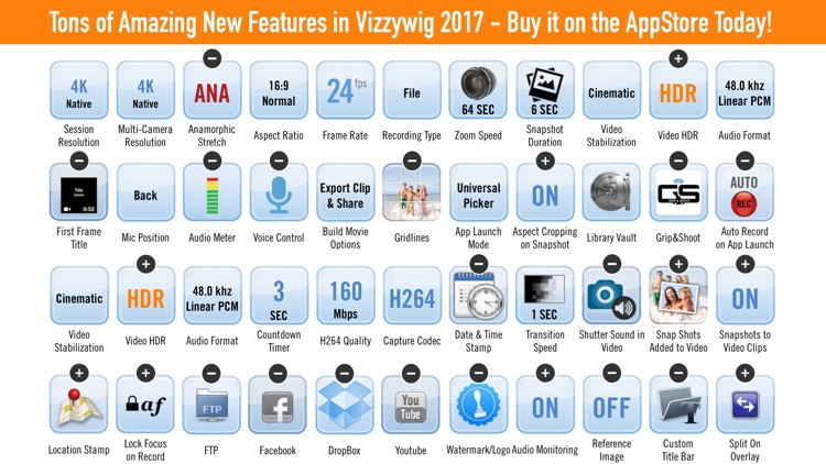 Vizzywig 2017 - Video Editor 4K Multicamera Studio