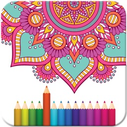 Adult coloring Books – Coloring Mandala