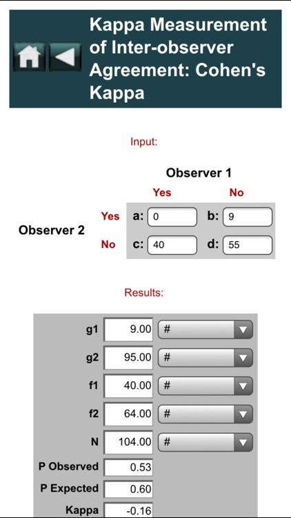EBMcalc Statistics screenshot-3