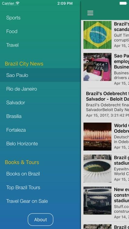 Brazil News in English & Brazilian Music Radio screenshot-4