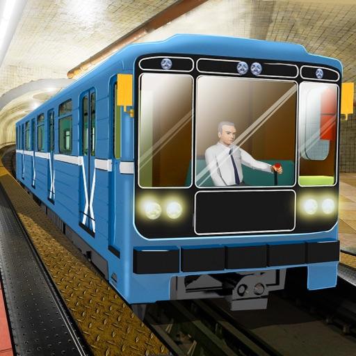 Метро Поезд 3Д Управлять