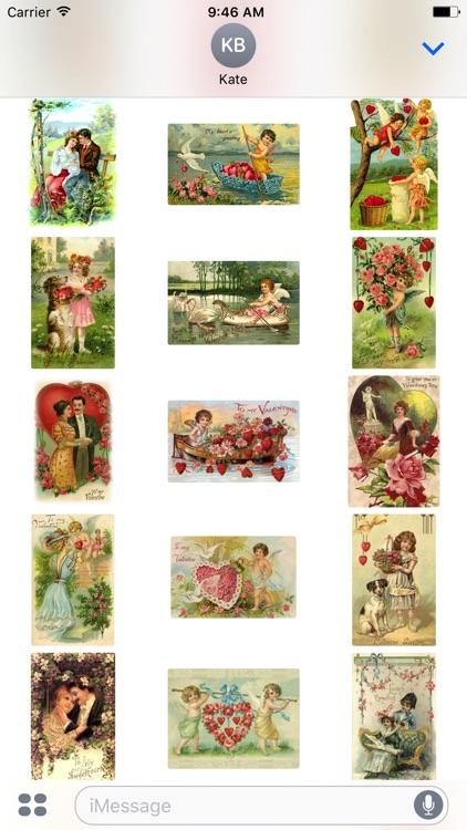 Sweet Valentine's Day Stickers
