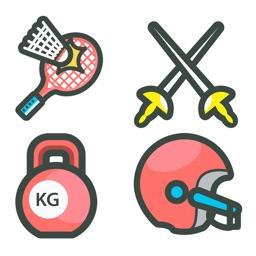 Sports Moji MEGA BUNDLE - 100 NEW Moji Stickers