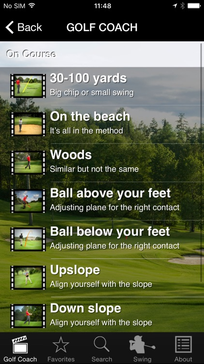 Golf Coach by Dr Noel Rousseau screenshot-0