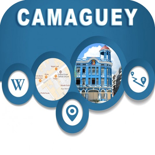 Camaguey Cuba Offline Map Navigation GUIDE
