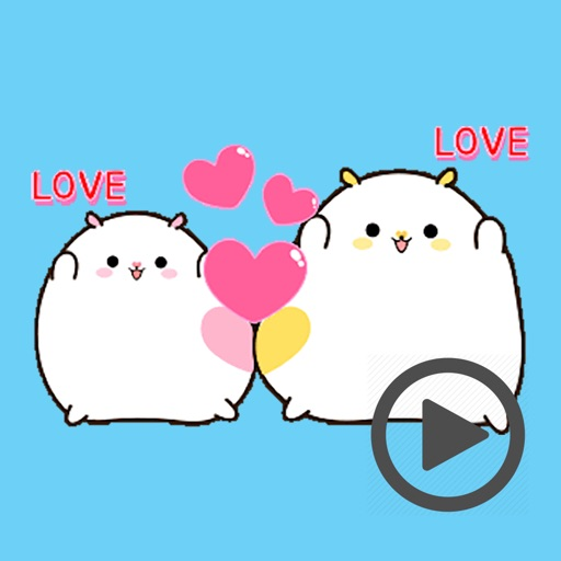 Fat Funny Hamster Animated