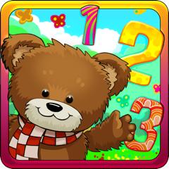 Zahlen lernen - Spiele für Kinder 2+