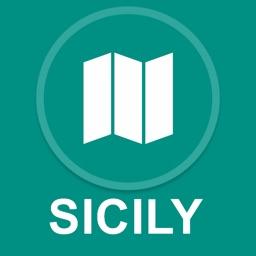 Sicily, Italy : Offline GPS Navigation