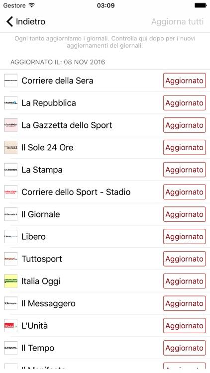 Quotidiani Italiani+ Notizie, Attualità, Cronaca screenshot-3