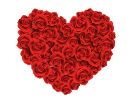 Roses to Love Stickers for iMessage