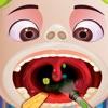Crazy kids Throat Doctor - free kids doctor games