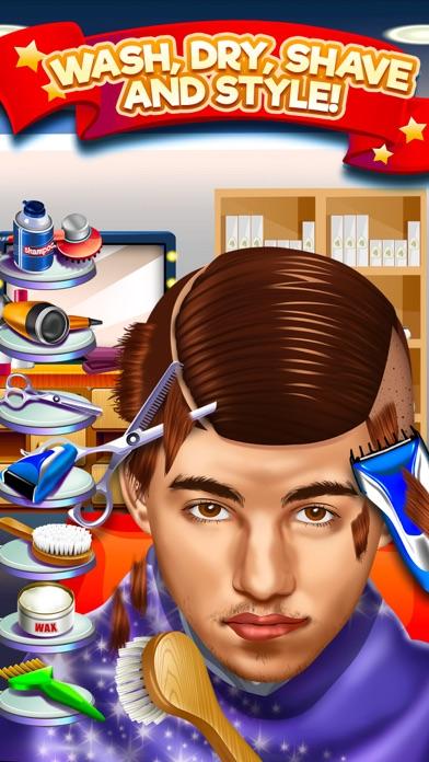 Kids Shave Salon Celebrity Games (Girls & Boys) screenshot four