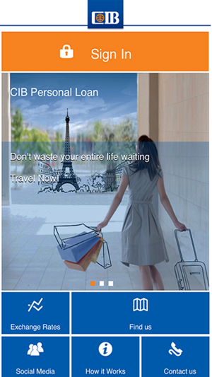 cib internet bank