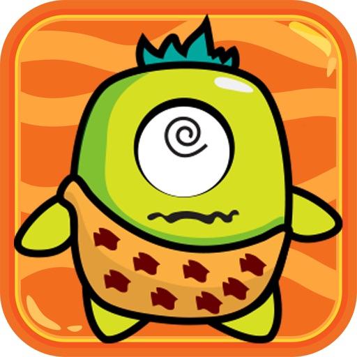 Green Monster Jump Up ! iOS App