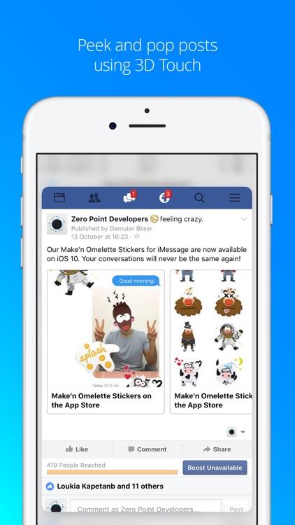Favorites - Posts Reader for Facebook Pages screenshot-4