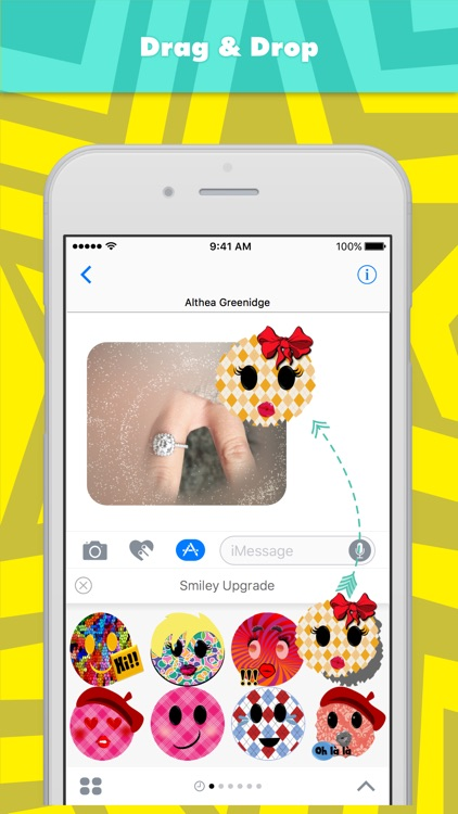 Smiley Upgrade stickers by Alade Expressions