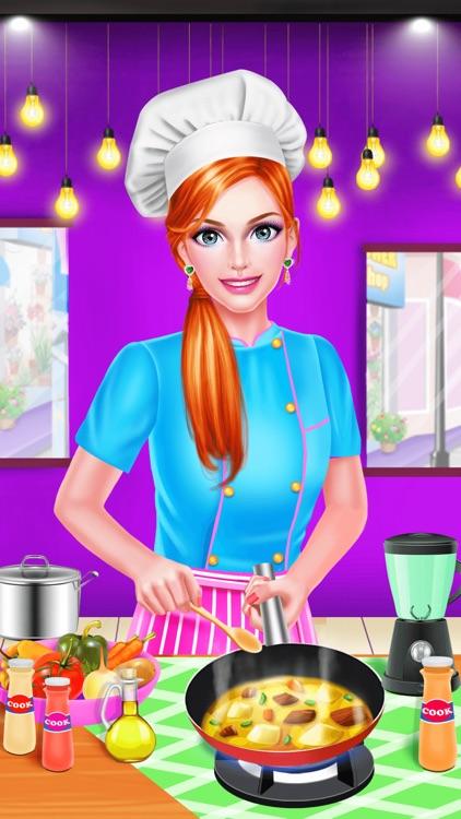 Celebrity Cooking Show - Dress Up Salon & Makeover